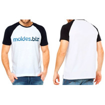 d53531d22d Kit Molde Camiseta Masculina - Gola V - Gola Careca à venda em ...