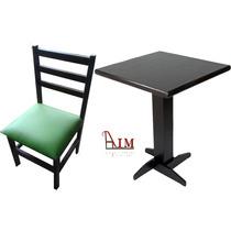 10 Mesas De 0.60x0.60 + 20 Cadeiras