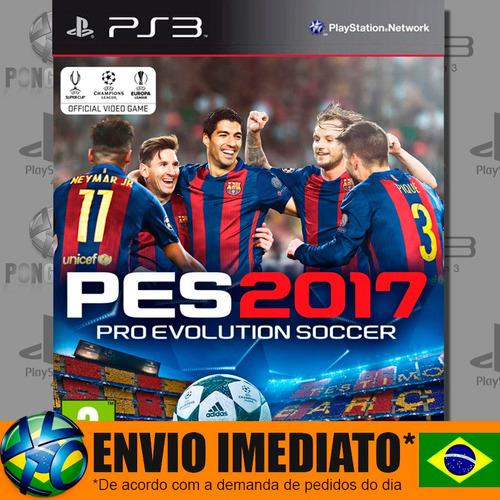Ps3 Pro Evolution Soccer 2017 Pes 17 Código Psn Envio Agora