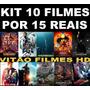 Kit 10 Filmes Por 15 Reais - Blu-ray - Filmes Mídia Digital