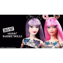 Barbie Collector Tokidoki 2015 No Brasil Nao Gravida Rara !!