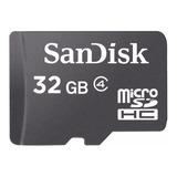 Cartão De Memória Sandisk Sdsdqm-032g-b35a 32gb