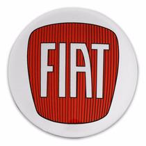 Kit Adesivos Para Calota Fiat Resinados Autocolantes 117mm