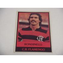 Rondinelli - Ping Pong Futebol Cards - Nº 108 - Flamengo