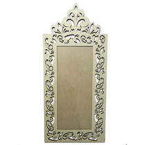 Moldura De Madeira Mdf P/ Espelho Arabescos 99.5-a X 45-l
