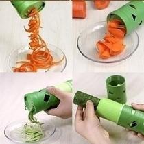 Descascador Aspiral Verduras Legumes Fatiador Cortador !!!