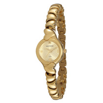 Relógio Mondaine Feminino Dourado Pequeno 76337lpmtdm1