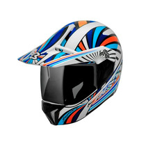 Capacete Bieffe 3 Sport Mxh04 Lançamento! (branco/azul)