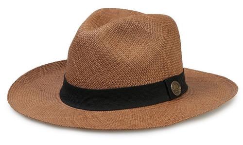2d05cf58e5fb2 Chapéu Panamá Original Montecristi Alta Qualidade Unissex à venda em ...