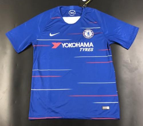 Camisa Chelsea Nike 2018-2019 Nova Temporada - Frete Gratis. R  160 50aad8a66eba6