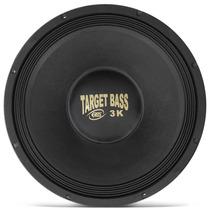 Alto Falante 15 Eros E-15 Target Bass 3.0k 4 Cromado Subwoof