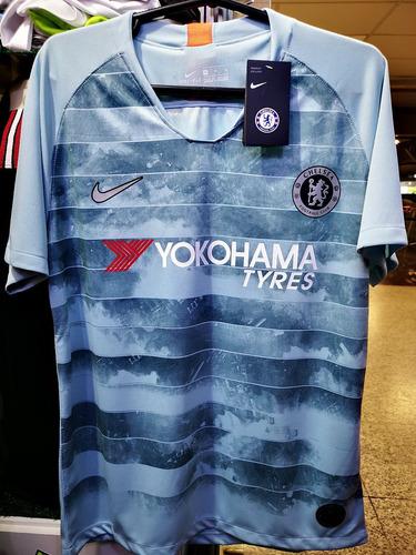 Camisa Chelsea Third 18 19 Nova Pronta Entrega. R  130 c0988a40ba1c8