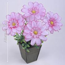 Arranjo De Gerbera 27 Cm Diversas Cores - Flores Artificiais