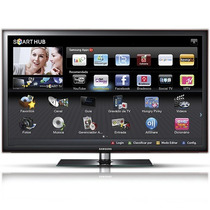 Tv Samsung Led 46 Polegadas Un46d6000, 3d, Full Hd, 4 Oculos
