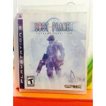 Jogo Lost Planet Playstation 3, Jogo Físico, Tiro/ação