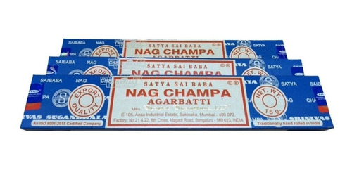Incenso Indiano Nag Champa Satya Sai Baba 3cxd15gr+bind-full
