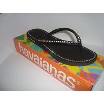 Havainas Slim Customizados Com Strass