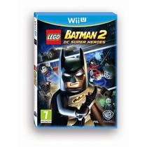 Jogo Lego Batman 2 Dc Super Heroes Para Nintendo Wii U