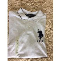 Camiseta Raulph Lauren Gola Polo Original Eua