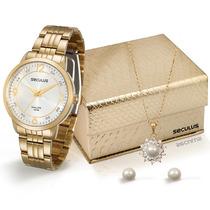 Relógio Seculus Feminino 28528lpsgda2k1