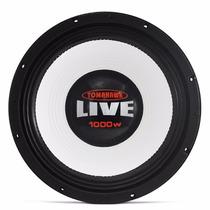 Woofer Tomahawk Live 12 1000w Grave Misto P/ Caixa Som Trio