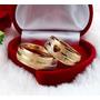 Par Alianças Casamento Coração Vaza Cor Ouro Moedas Antigas