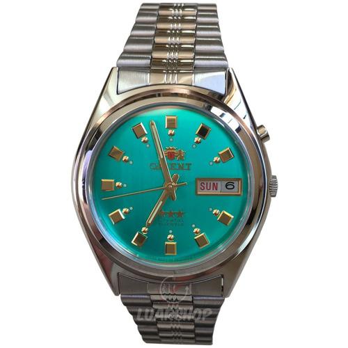 bc454e99133 Relógio Orient Automatico Masculino - Verde 2 Chave C  Caixa