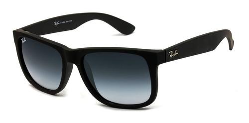 8c1914d95 Óculos De Sol Masculino Polarizado Quadrado Justin Preto