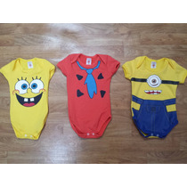 Kit 10 Body Infantil Bebê Pra Revenda Atacado Barato Vários
