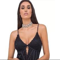 d55586ada Busca Body com renda preto com os melhores preços do Brasil ...