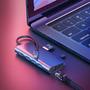 Adaptador Baseus Almighty Hub 8x1 Usb 3.0 Hdmi 4k Sd Type-c