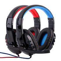 Headphone Gamer Bass C/ Fio Corda Microfone Alpha 1804 Full