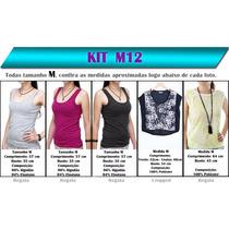 Kit 5 Blusas Femininas M- Roupa Atacado Revender Lote