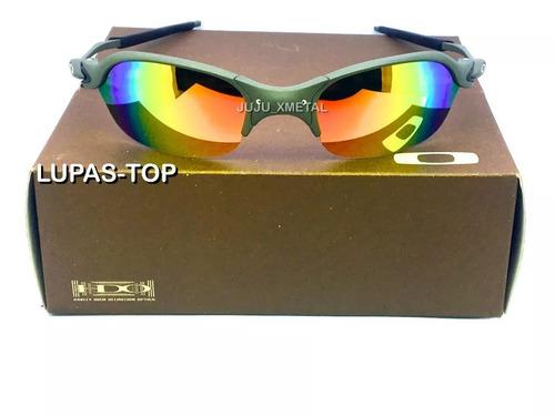 d3a0026a6 Oculos Oakley Romeo 2 X Metal Lentes Arco Iris + Certificado. R$ 120