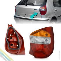 Lanterna Traseira - Palio Fire 2001 2002 2003 Carc. Vermelha