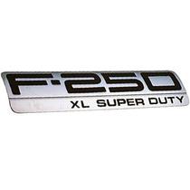 Emblema Xl Super Duty Lateral Cacamba F-250 06-10 Original *