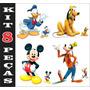 Kit Display Toten Turma Do Mickey 8 Peças