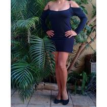 Vestido Preto Colado Costa Nua