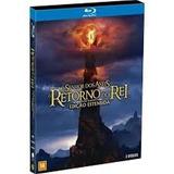 Blu-ray Duplo O Senhor Dos Anéis O Retorno Do Rei Estendida