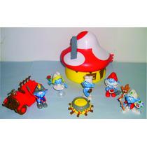 Coleção Smurfs Todos Personagens Do Anuncio