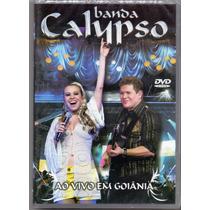 Dvd Banda Calypso - Ao Vivo Em Goiânia - Novo***