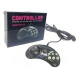 Controle Mega Drive Master System 6 Botões Cabo Longo 1,70cm