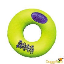 Brinquedo Para Cães Cachorro Kong Air Squeaker Donut - M