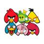 Máscara Angry Birds 6un