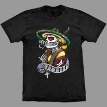 Camiseta De Tatuagem Bandito!!! Estampa Exclusiva!!