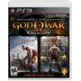 Jogo God Of War Collection Colêtanea 2 Jogos - Para Ps3
