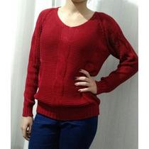 Lindas Blusas De Lã E Tricot De Várias Cores E Modelos