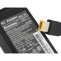 Carregador Original Notebook Lenovo G400s Plug Retangular