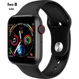 Relógio Smartwatch Inteligente Iwo8 Lite 44mm Novo Bluetooth