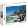 Quebra Cabeça Puzzle 500 Peças Ilha Seychelles Paisagem